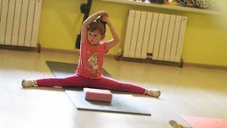 ВЛОГ Едем на гимнастику Хореография 3-6 лет Купили канеколон цветную косичку