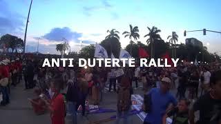 Kaibahan ng Rally ng Pro at Anti Duterte