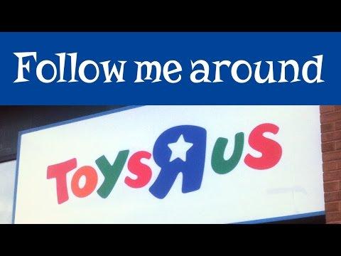 Follow Me Around Toys R Us: Shopping Vlog