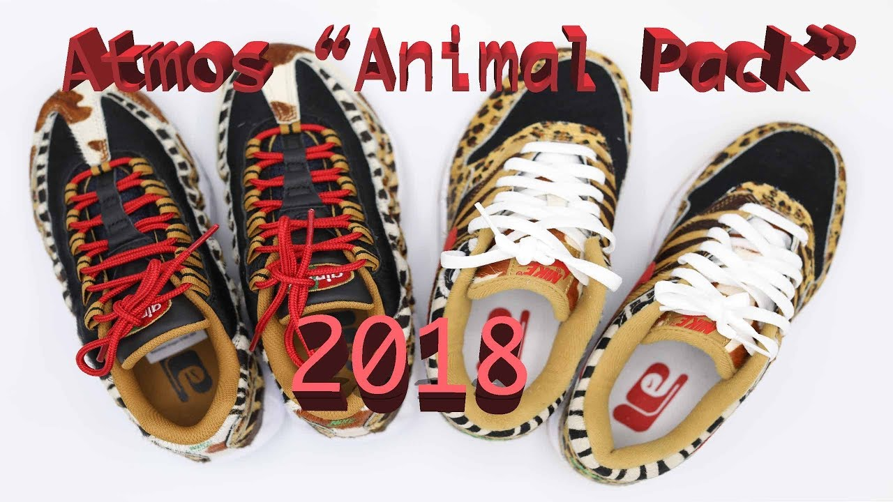 00846490e97a Atmos Animal Pack 2018 Review - YouTube