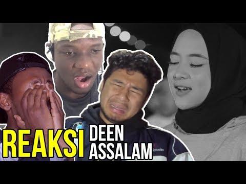 9 Reaksi Orang LUAR Denger DEEN ASSALAM Cover By SABYAN Gambus