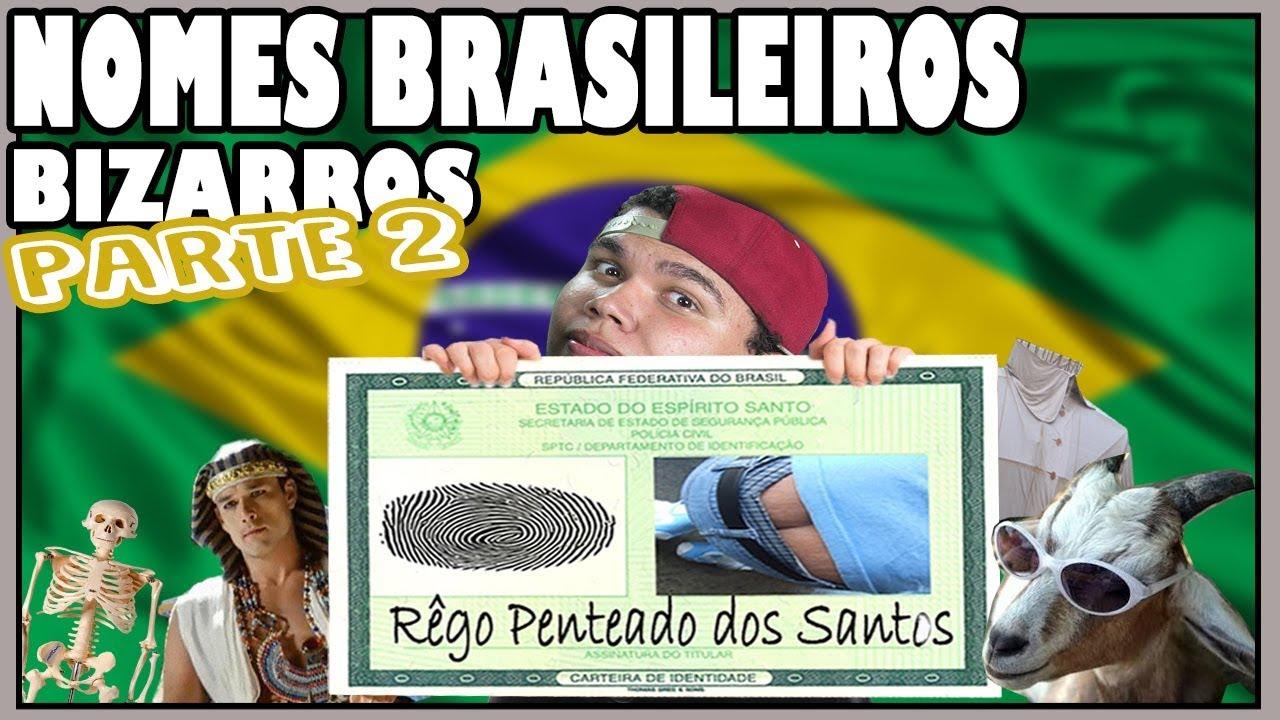 QUAIS SÃO OS PIORES NOMES BRASILEIROS?  (HD) - Qual é o Botão?