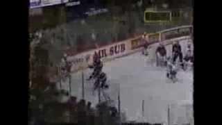 Mats Sundin Last Minute Heroics In 1995