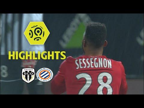 Angers SCO - Montpellier Hérault SC (1-1) - Highlights - (SCO - MHSC) / 2017-18