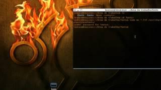 fontes truetype, como proceder com sua instalação no Ubuntu