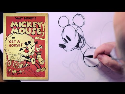 Recreating Mickey Mouse for Get a Horse   Behind the Animation