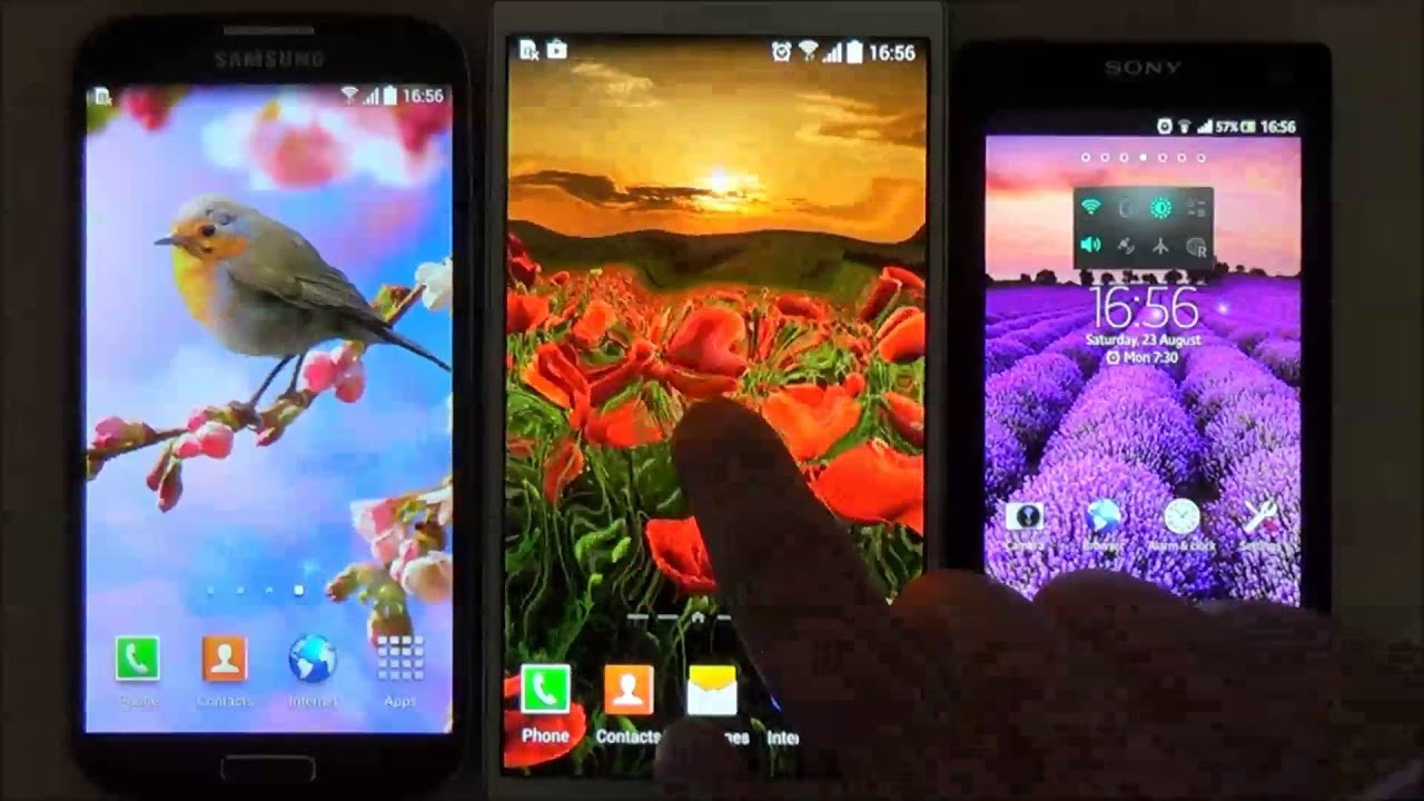 flowers live wallpaper for android phones and tablets youtube