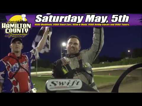 Grand opening at Hamilton County Speedway May 5