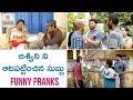 Chandragiri Subbu's Marriage Prank on Ashwini | Funny Prank Videos | Chandragiri Subbu Comedy Videos