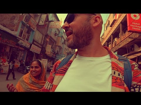 Rickshaw Scam // First Day Back In India!