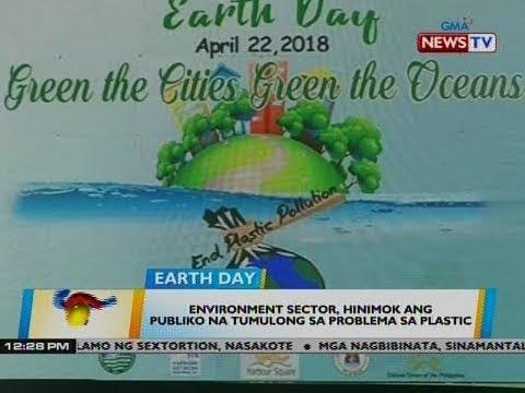 BT: Environment sector, hinimok ang publiko na tumulong sa problema sa plastic