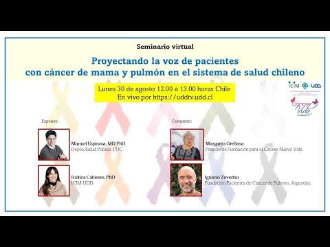Webinar: Proyectando la voz de los pacientes de cáncer de mama y pulmón en el sistema de salud