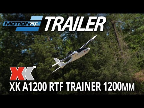 XK A1200 1200mm RTF Trainer with Gyro - Great for Beginners - Motion RC