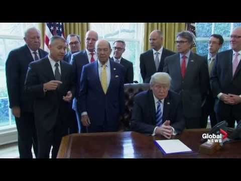 Trump approval of Keystone XL pipeline
