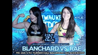 Download Tessa Blanchard vs. Kylie Rae 3 - Women's Championship - Zelo Pro - 1/4/19 Mp3 and Videos