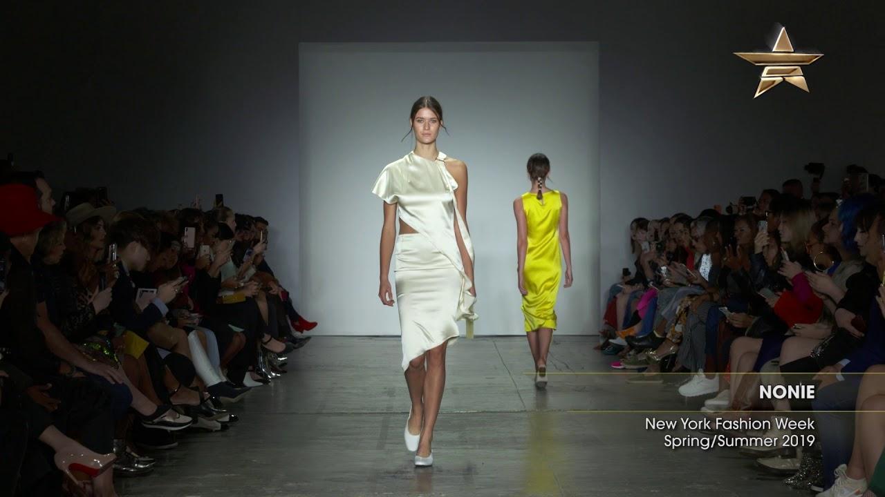 47afc66ce2a20 NONIE New York Fashion Week Spring/Summer 2019 - YouTube