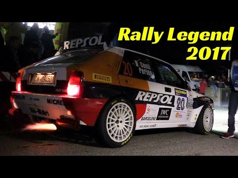 Rally Legend San Marino 2017 - Special Stage i Laghi - Day 1 - Night Scenes & Flames!