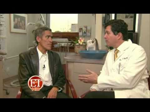 ET EXCLUSIVE: Ted Williams Gets a Dental Makeover Consultation