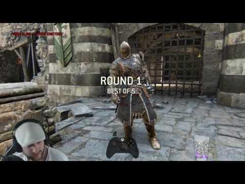 For Honor - Raider vs Warden - AMAZING WARDEN & HIS VORTEX!