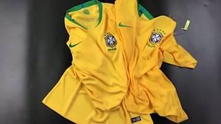 Brazil World Cup Jersey 2018 - fcbjerseys.net