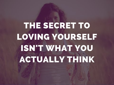 The Secret To Loving Yourself Isn't What You Actually Think