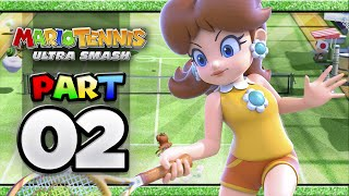 Mario Tennis: Ultra Smash - Part 02 | Classic Tennis (4-player)