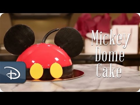 diy:-how-to-make-mickey-dome-cake-at-amorette's-patisserie-|-disney-springs