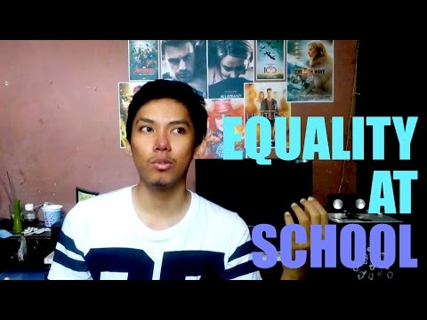 EQUALITY AT SCHOOL