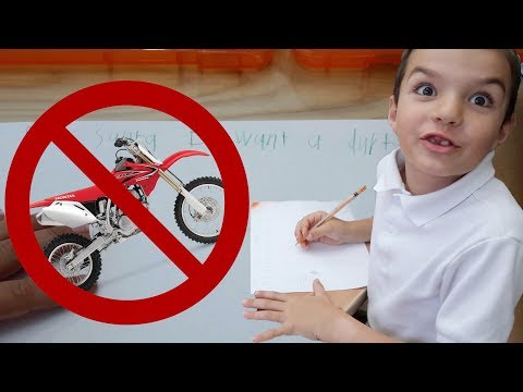 🏍️ GETTING A DIRT BIKE FOR CHRISTMAS?! | KIDS LETTERS TO SANTA 🎅