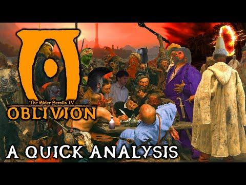 TES4: Oblivion Analysis | A Quick Retrospective