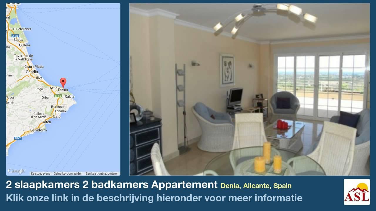 2 Slaapkamers Badkamers Appartement Te Koop In Denia Alicante Spain