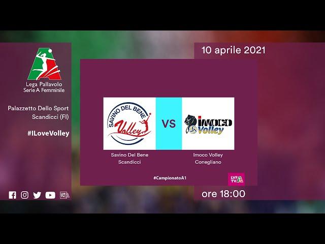 Scandicci - Conegliano | Speciale | Gara2 Semifinale Playoff | Lega Volley Femminile 2020/21
