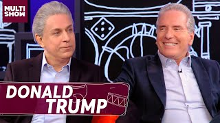 Roberto Justus e o encontro com Donald Trump 🇺🇸  | Tom Cavalcante | Multi Tom | Humor Multishow
