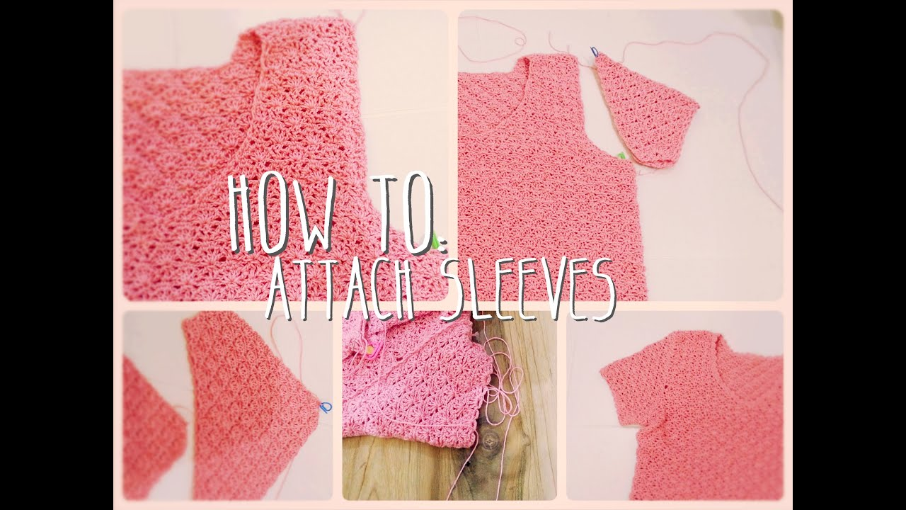 How To Attach Sleeves Youtube