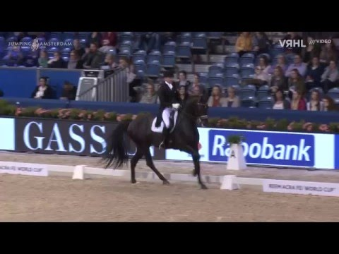 Jumping Amsterdam 2016: Edward Gal en Glock