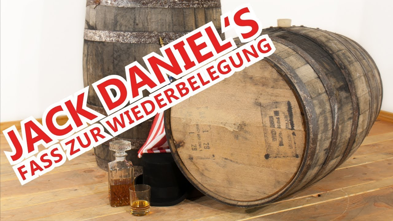 Jack Daniels Fass Tisch.Jack Daniel S Fass Zur Wiederbelegung 190 L
