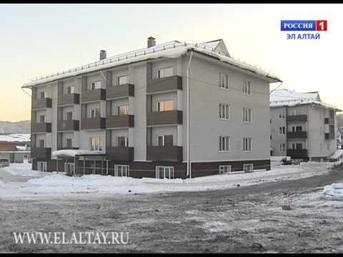 В Горно-Алтайске более 70 семей справят новоселье