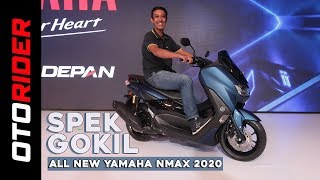 All New Yamaha Nmax 155 2020 – Indonesia | First Impression Review | Otorider
