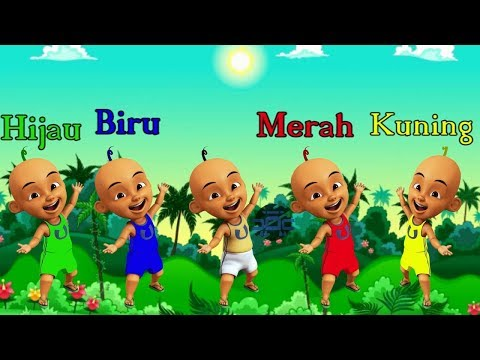 Learning Color With Upin Ipin | Boboiboy | Shiva and Adit Sopo Jarwo