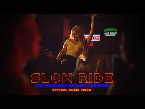Смотреть клип Colt Ford - Slow Ride Feat. Mitchell Tenpenny