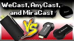 WeCast vs AnyCast vs MiraCast | Which One Is The Best?