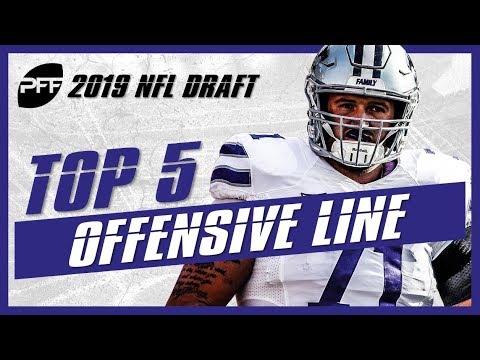 Best Offensive Lines In Nfl 2019 2019 NFL Draft Preseason Rankigns: Top 5 Offensive Lineman   PFF