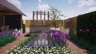3428   De Groot Hoveniers   3D Tuinontwerp   Achtertuin in Veghel