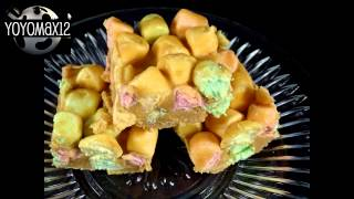 "Peanut Butter ""rainbow"" Marshmallow Squares- With Yoyomax12"