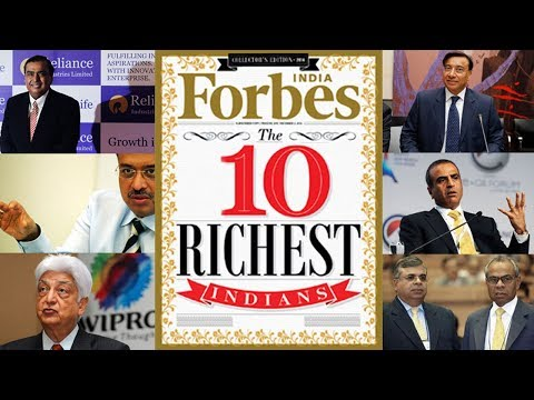 10 Richest Indians 2017 | Forbes India