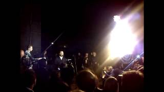 Cantor Yaakov Lemmer sings at Warsaw Ghetto Uprising Memorial 70 anniversary