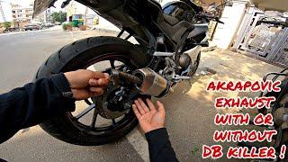 Superbike Sound !! R15 V3 Imported Akrapovic Exhaust Flyby
