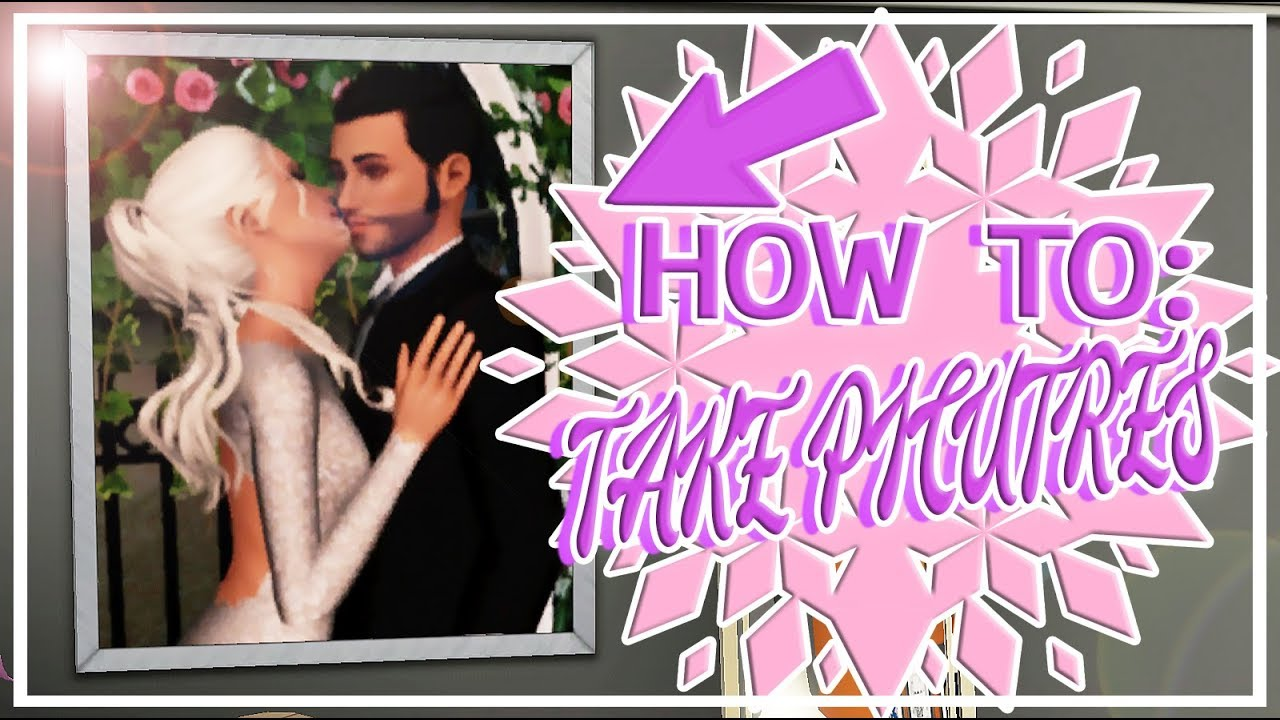 the sims 3 tutorial how i take wedding pictures youtube