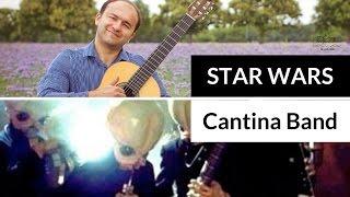 Веселая музыка на гитаре Cantina Band из  STAR WARS | Вдохновение учеников-гитаристов