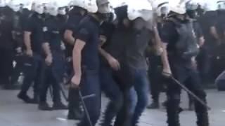 Ankara Gezi Parkı Olayları - Polisler Kaçtı